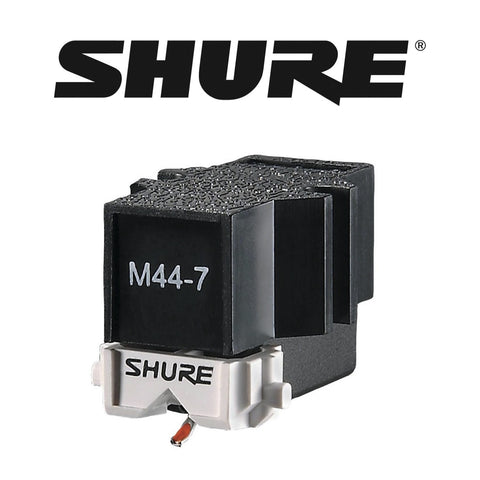 Shure M44-7 Scratch Cartridge & Stylus