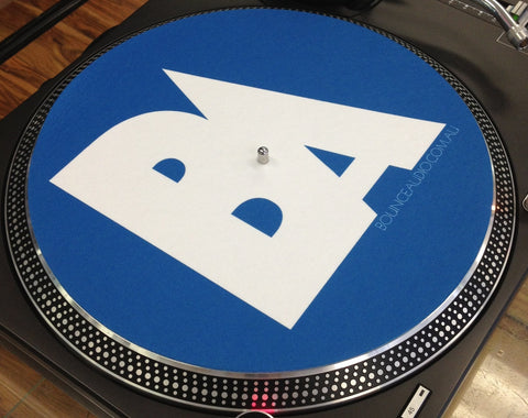 Bounce Audio Slipmats Blue (pair)