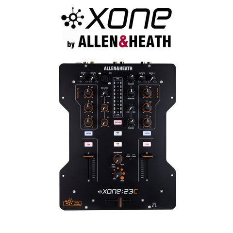 Allen & Heath Xone 23C, 2+2 Channel Mixer/USB Interface