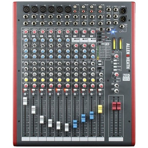 HIRE Allen & Heath ZED-12FX Mixing Desk