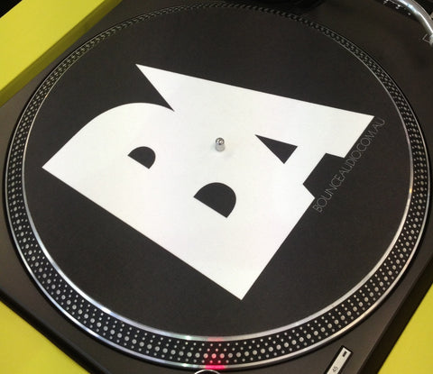 Bounce Audio Slipmats Black (Pair)