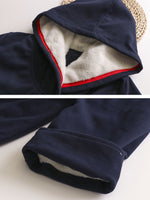 Casual Pockets Hoodie Long Sleeve Outerwear