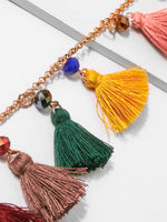 Fringed Necklace European and American retro Bohemian necklace