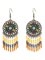 Vintage bohemian ethnic earrings