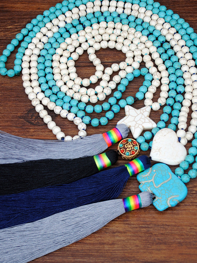 Bohemian Ethnic Tassel Necklaces