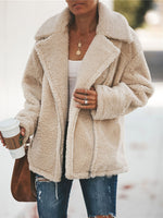 Solid Casual Outerwear