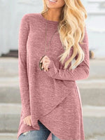 Long Sleeve Cotton Shirts & Tops