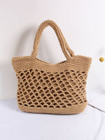 Woven Beach Bag Leisure Vacation Shoulder Tote