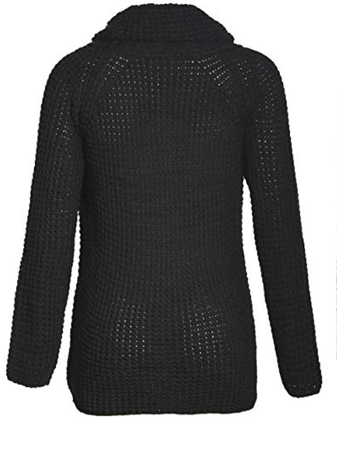 Cowl Neck Long Sleeve Shirts & Tops