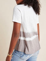 Short Sleeve Cotton-Blend Crew Neck Shirts & Tops