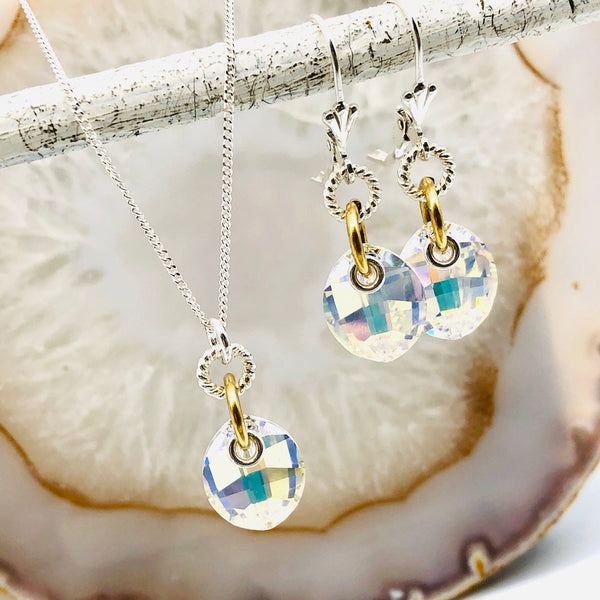 Laurel Swarovski Set