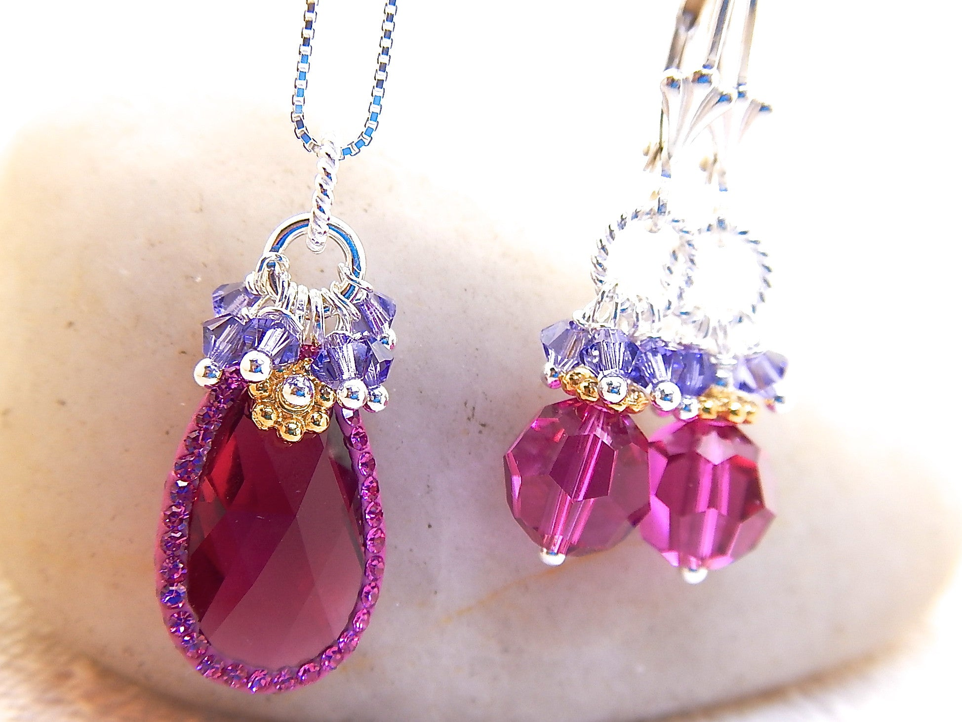 Paisley Earrings - Adorned Swarovski