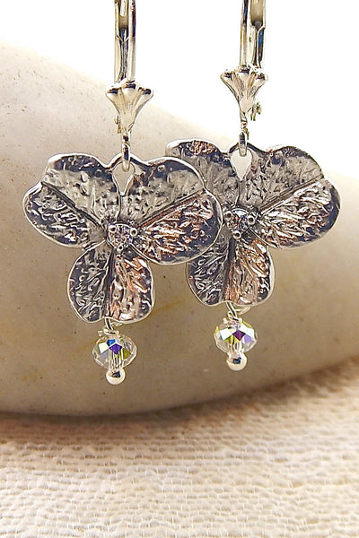 Orchid Necklace - Vintage orchids