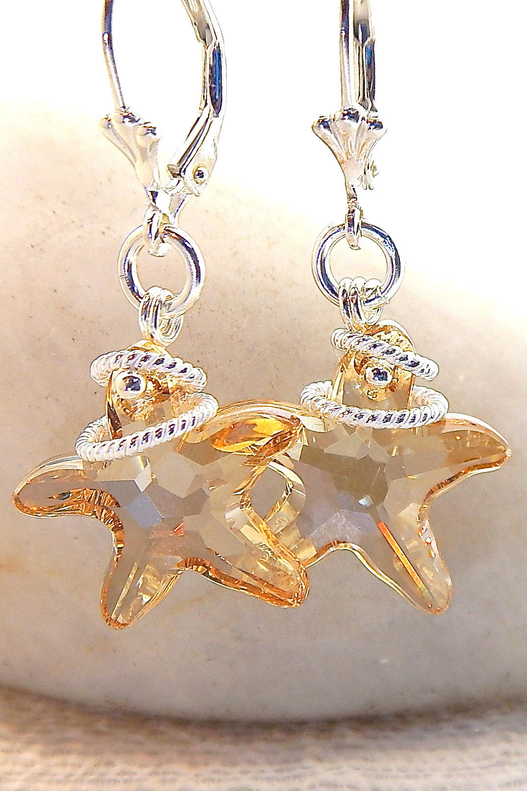 Starlet Necklace - Starfish Sparkles