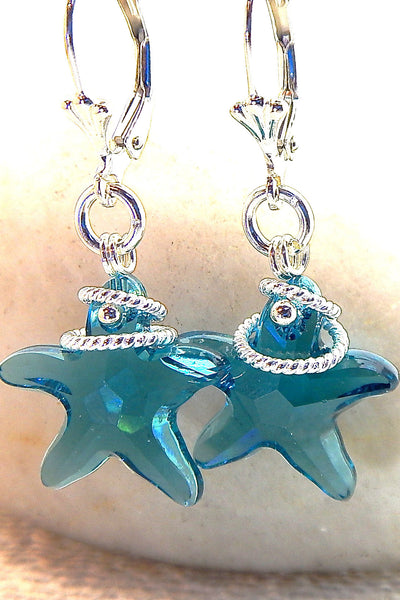 Starlet Earrings - Starfish Sparkles