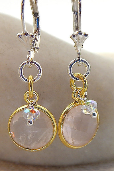 Maya Earrings - Semi-Precious Gem