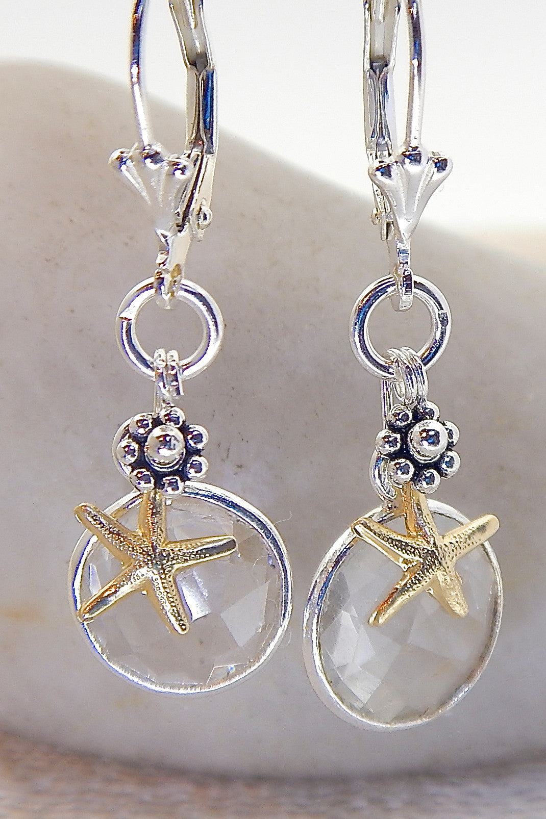 Ocean Necklace - Starfish Accented