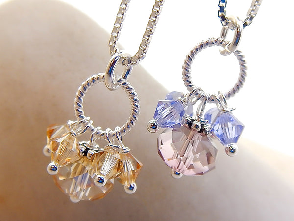 Tinks Necklace - Teeny Tiny Cluster
