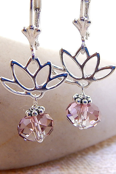 Lotus Earrings - Lotus Silhouettes