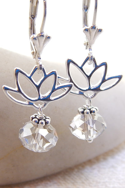Lotus Necklace - Lotus Silhouettes