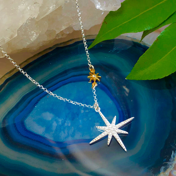 Aura Star Pendant Necklaces