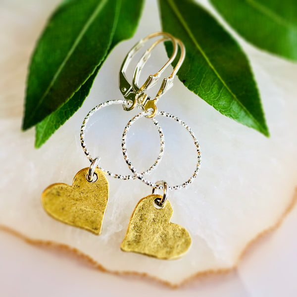 Love Earrings Silver