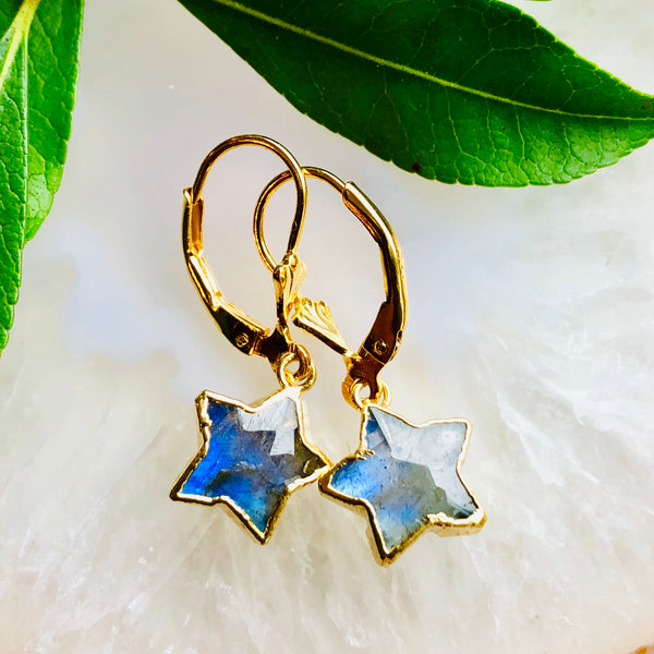 Star Bright Gemstone Earrings