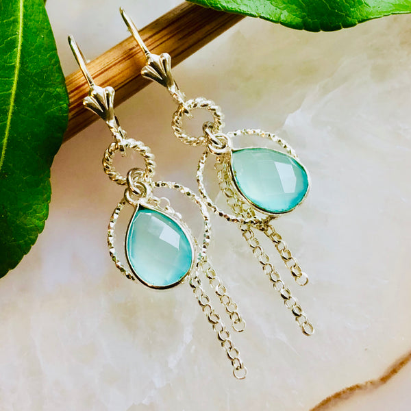 Dewdrop Fringe Earrings