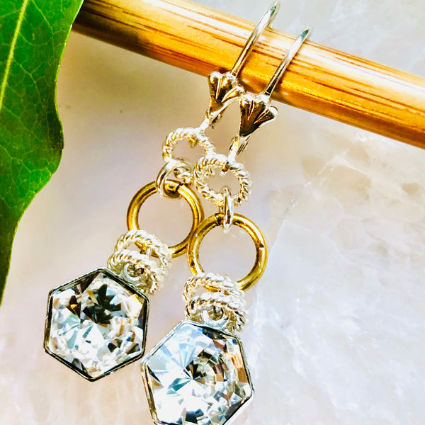Hex Swarovski Earrings