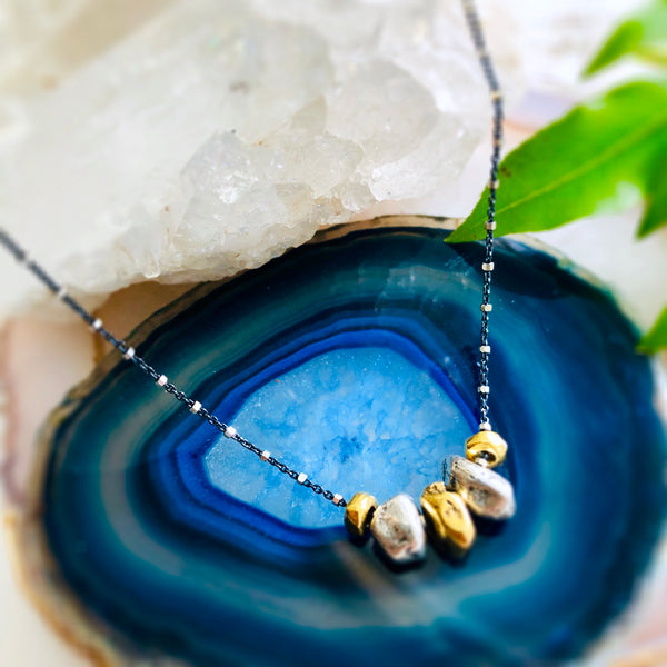 Pebbles Pendant Necklaces
