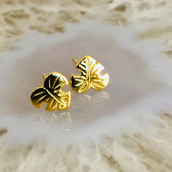 Hawaiian Palm Studs