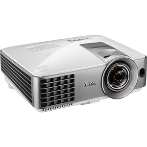 BenQ MW632ST - Portable 3D - WXGA 720p DLP Projector with Speaker - 3200 ANSI lumens - Silver