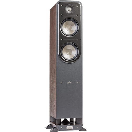 Polk Audio Signature Series S55 Floorstanding Speaker (Classic Brown Walnut, Single)