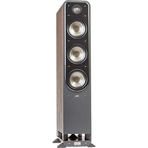 Polk Audio Signature Series S60 Floorstanding Speaker (Classic Brown Walnut, Single)