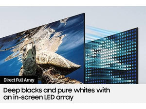 "Samsung Q80A Series QN75Q80AAF - 75"" QLED Smart TV - 4K UltraHD"