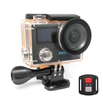 EKEN Action Cam H8R, UltraHD 4K 30fps, 14MP, WiFi, Waterproof, Black