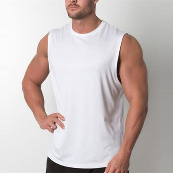 Brand New Plain Tank Top Men Bodybuilding