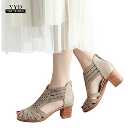 YOUYEDIAN Spring Summer Ladies high heels