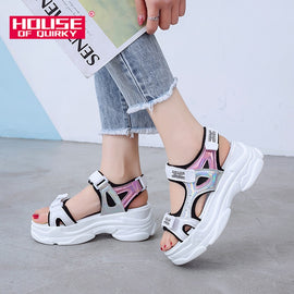 Summer Thick Bottom Female Sport Sandals