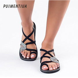 Puimentiua Sandals Fashion Gladiator Sandals