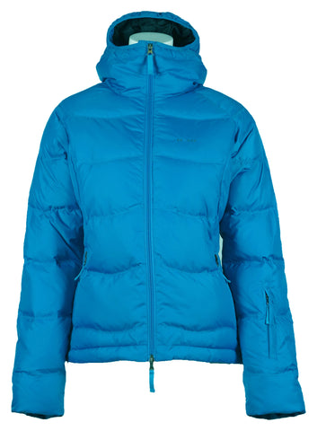 Short Down Jacket Aqua