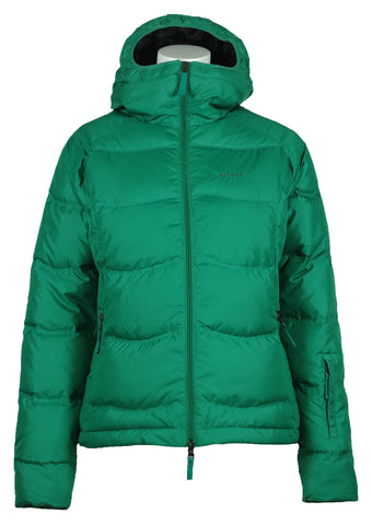 Short Down Jacket Emerald Green