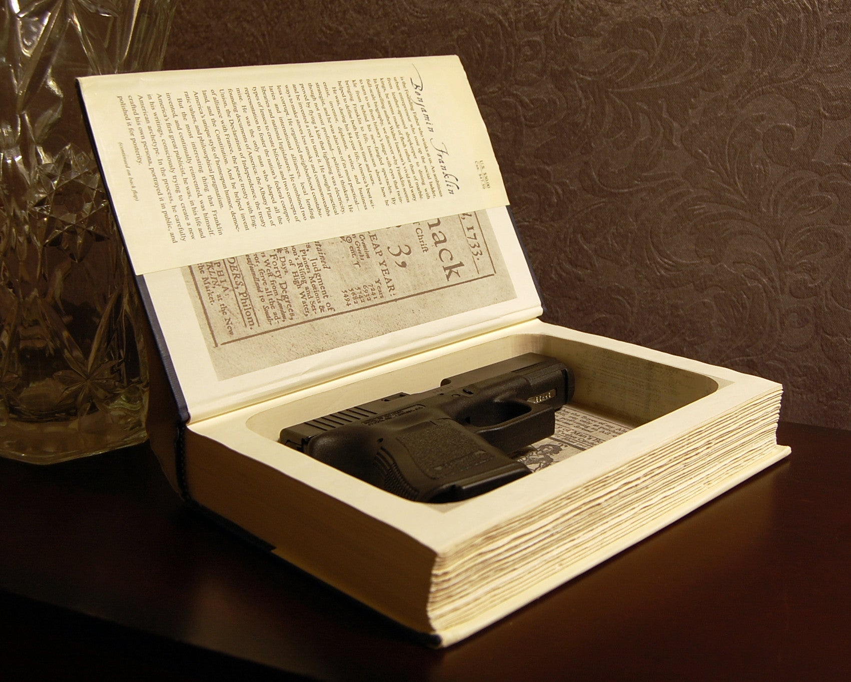 Benjamin Franklin / Walter Isaacson - Secret Safe Books  - 1