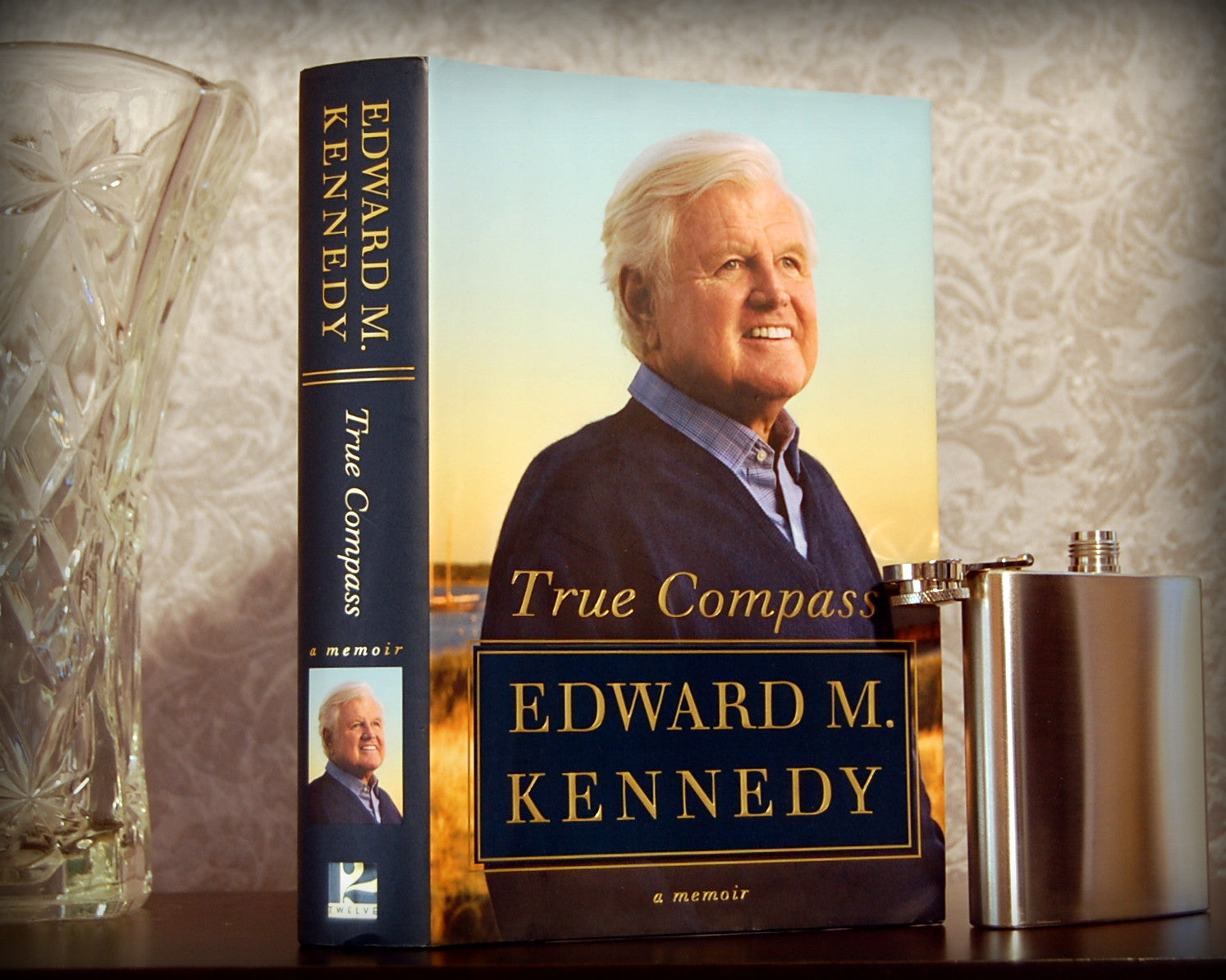 True Compass: A Memoir / Edward Kennedy - hollow book safe