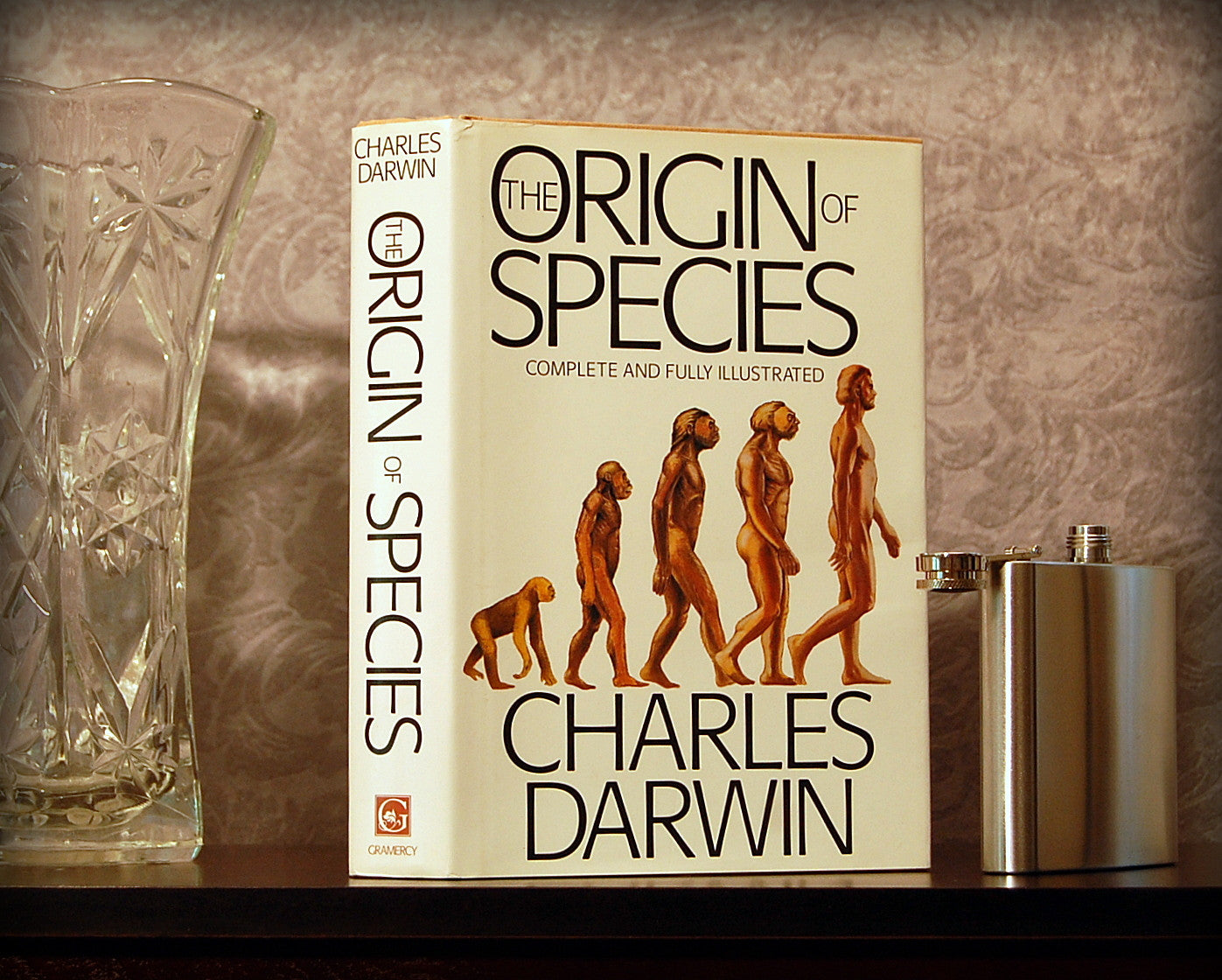 The Origin of Species / Charles Darwin - Secret Safe Books  - 1