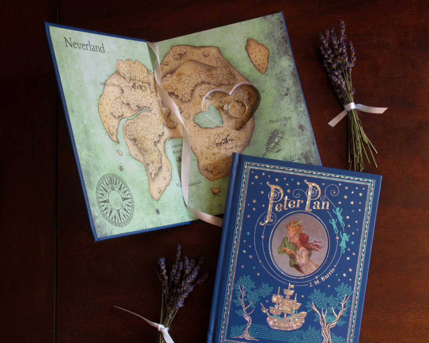 Peter Pan Heart Book / Barrie