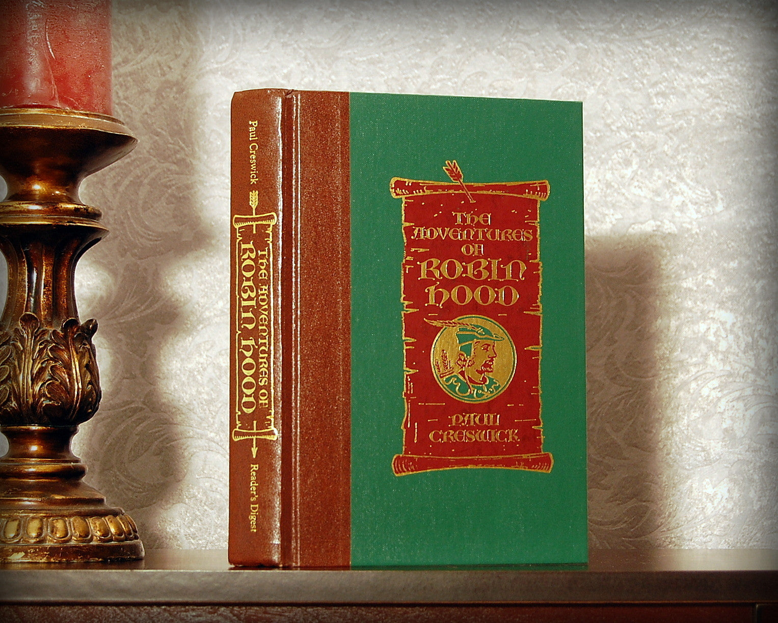 The Adventures of Robin Hood / Paul Creswick - Secret Safe Books  - 1