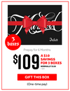 Tattoo subscription box, 3 box gift for $109