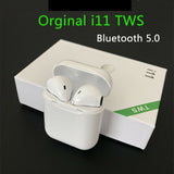 i11s Wireless Earphones Bluetooth Headset With Mic Touch 5.0 Earphone US