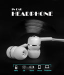 3.5mm Wired Headphones  Headset Stereo Music Earphone Smart Phone AHS